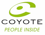Logo Coyote People Inside fond blanc